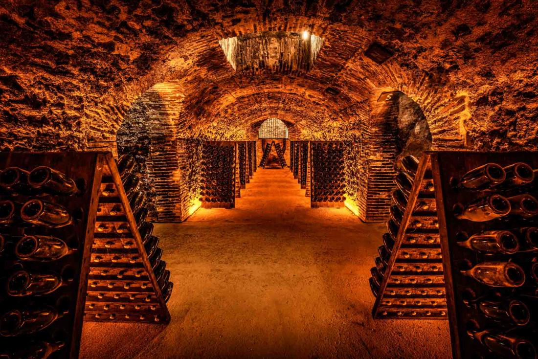 Les caves de champagne de la maison Boizel © Leif Carlsson