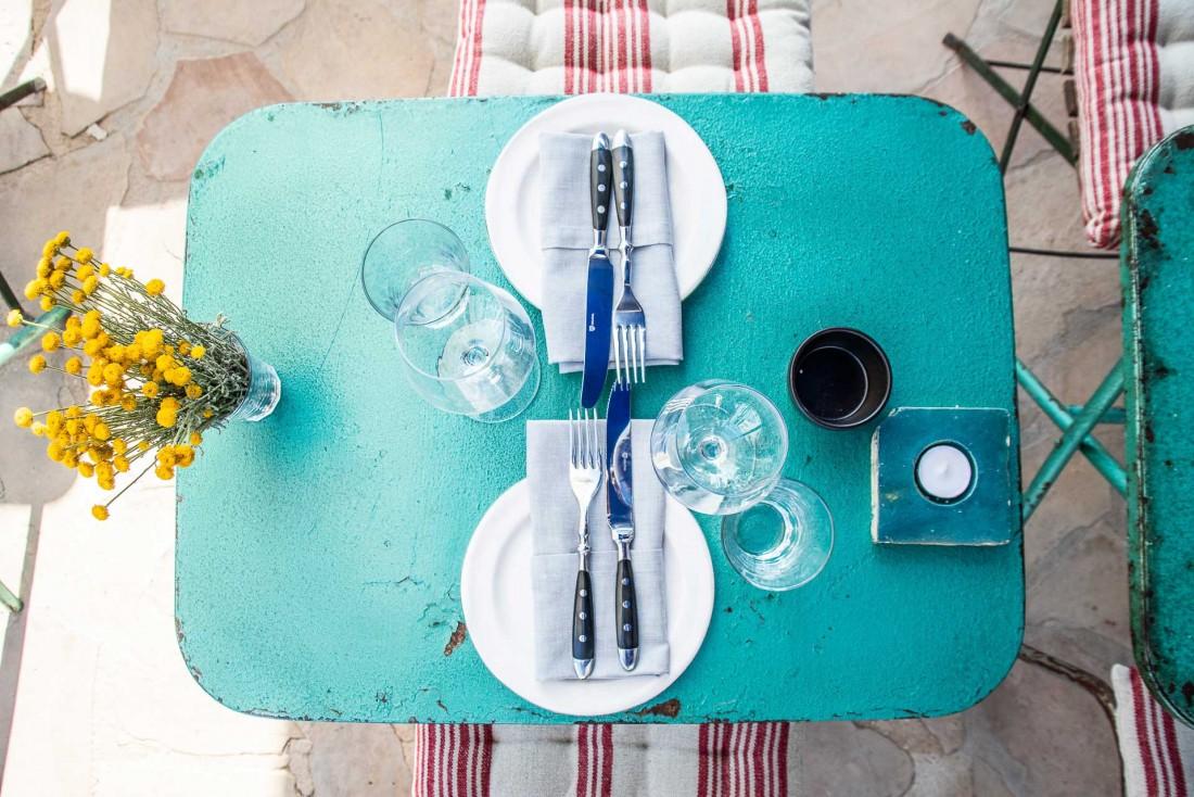 Bottega il Buco à Santa Gertrudis, désormais l'une des meilleures adresses de l'île pour déjeuner ou dîner à Ibiza © Anna Lui