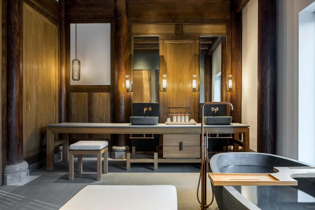 Kerry Hill Architects signe le design ultra léché de l'Amanyangyun © Aman