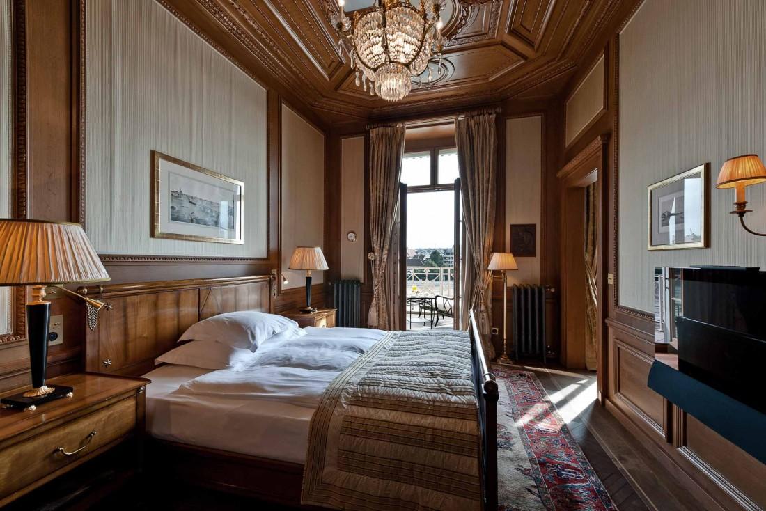 Chambre avec vue sur le Rhin : la 117 où séjourna Theodor Herzl en 1897 © Les Trois Rois