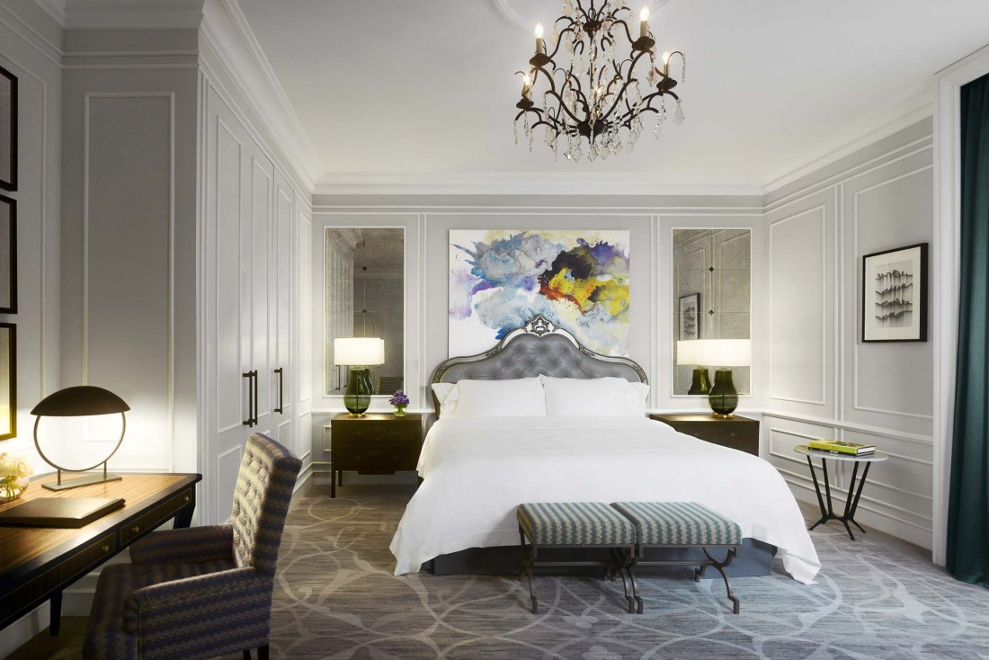 Chambre Premium avec vue Rivière © Hotel Maria Cristina