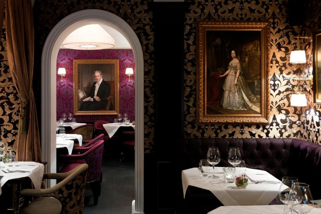 Intérieur ultra chic signé Jacques Garcia au très réussi restaurant Casa Coppelle © Casa Coppelle