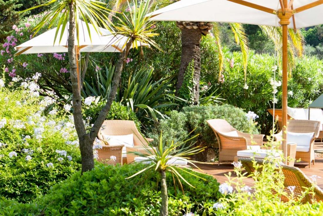 Dans les jardins du Royal Riviera © Royal Riviera