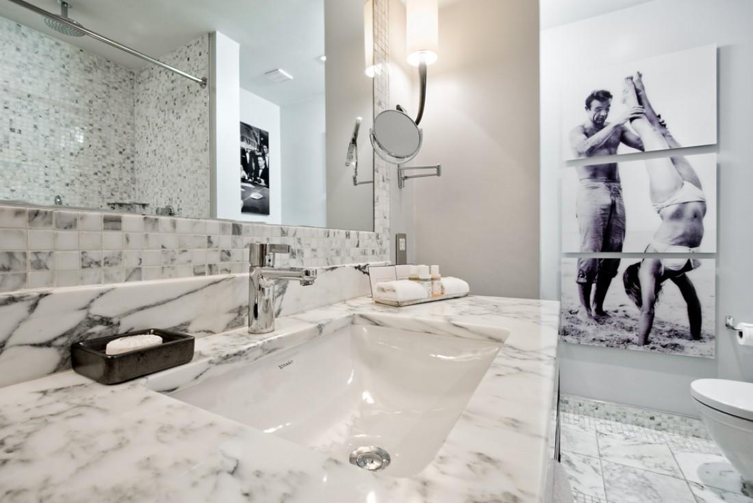Les salles de bain rendent hommage à Sean Connery, le plus célèbre des Écossais © Rocco Forte Hotel