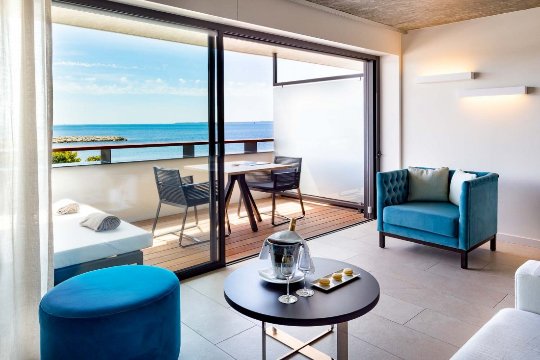 Cap d'Antibes Beach Hotel : suite