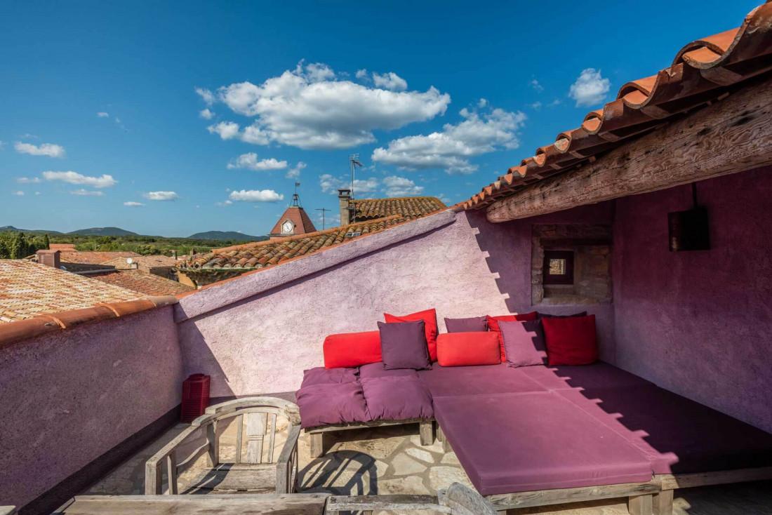 Castigno   Chambre avec terrasse © DR