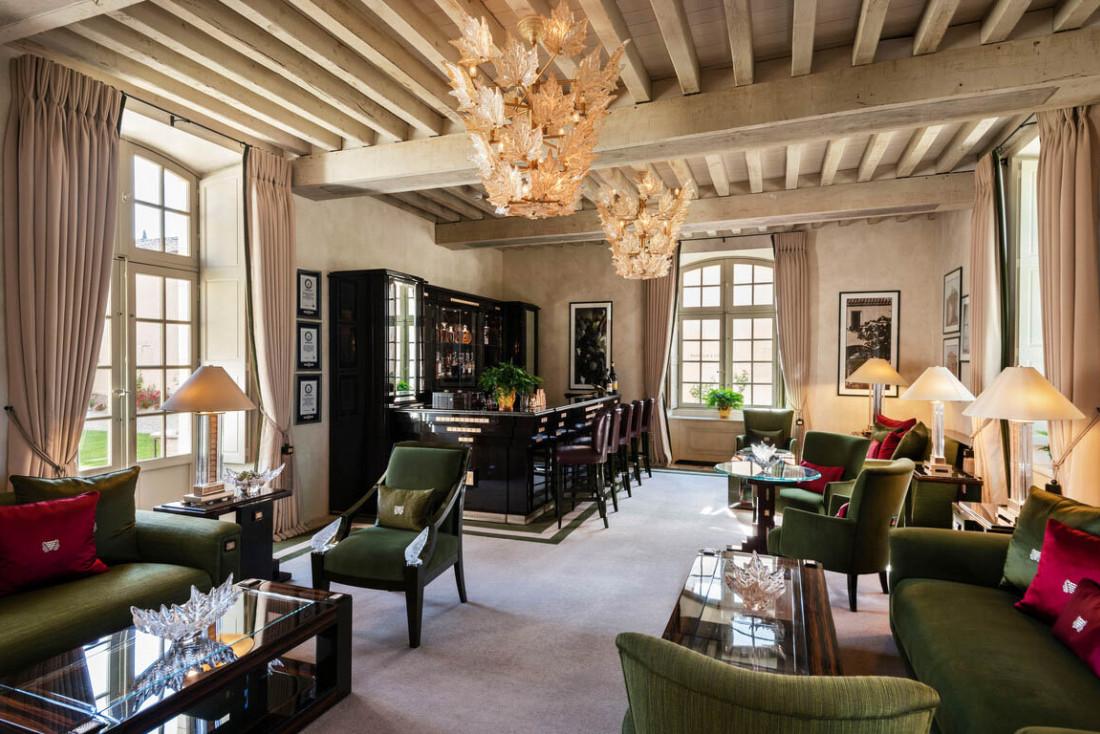 Le Château Lafaurie-Peyraguey, luxueux hôtel et restaurant signé Lalique dans le Sauternais © DR