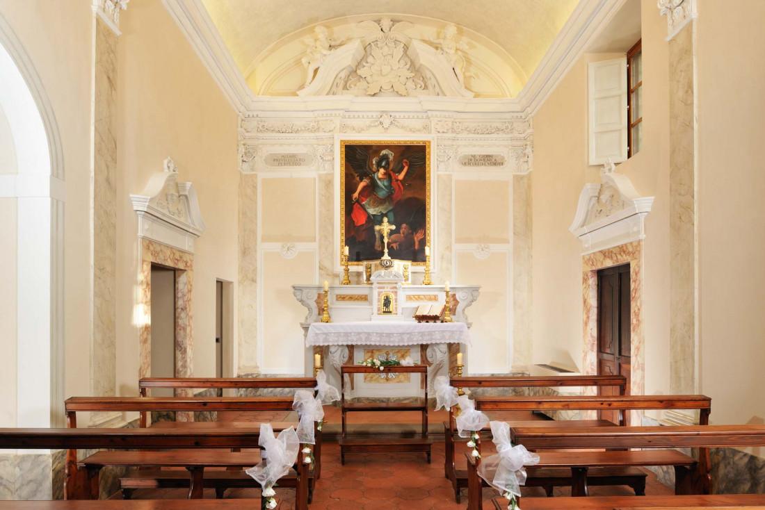 COMO Castello Del Nero | La petite chapelle © COMO Hotels & Resorts