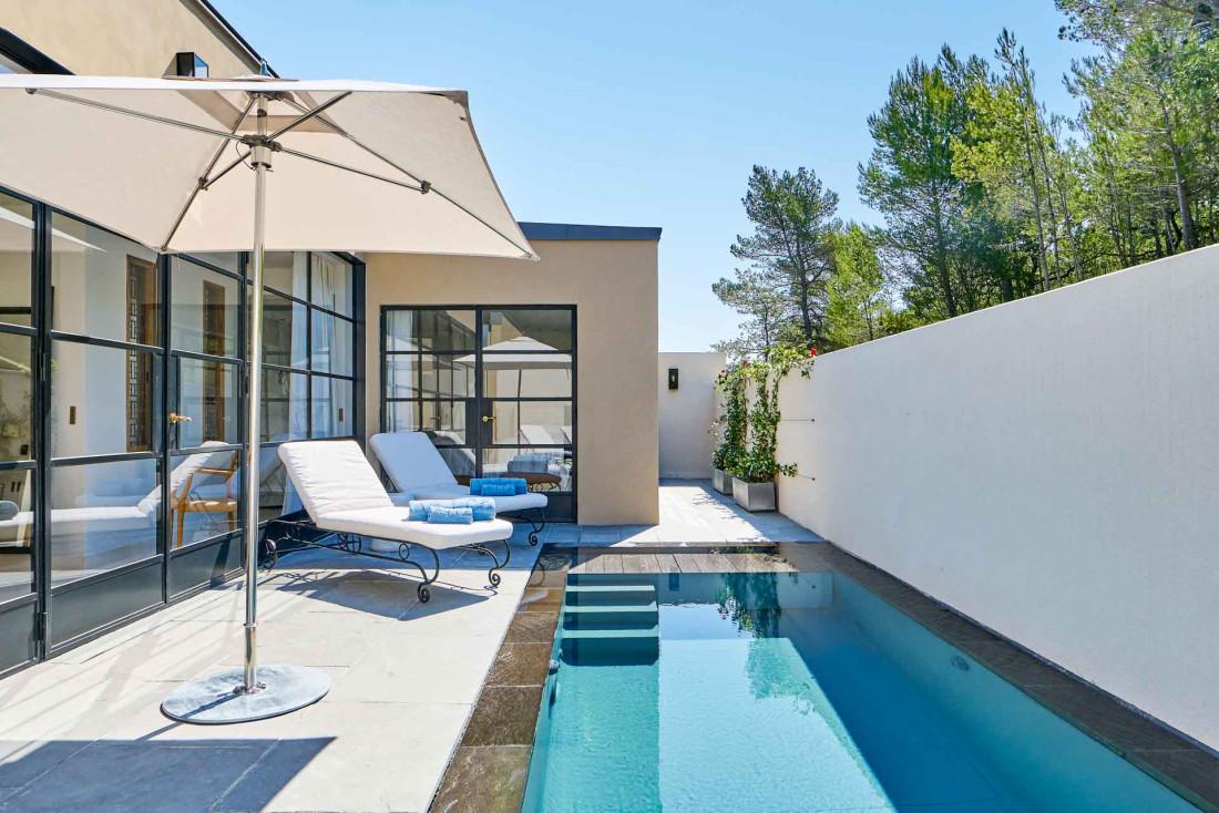 À la Villa La Coste, palace en Provence, des suites dotées de piscines privées © Richard Haughton