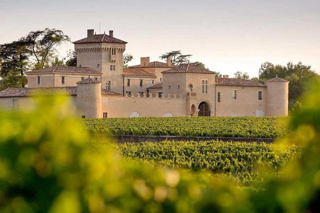 Le Château Lafaurie-Peyraguey, luxueux hôtel et restaurant signé Lalique dans le Sauternais © Deepix