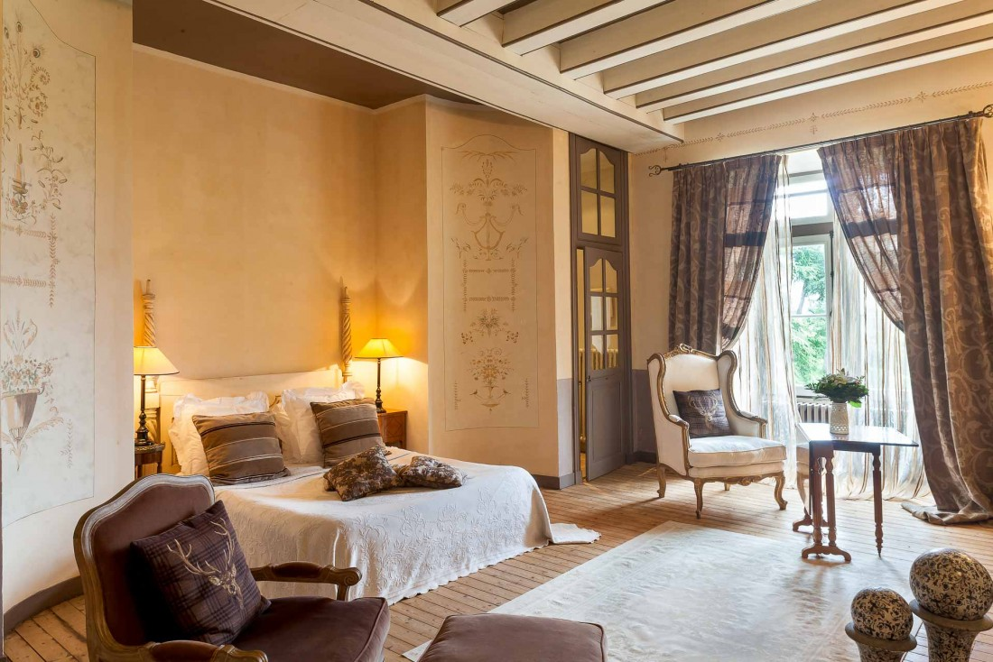 Château de l'Épinay : élégance et espace dans les chambres © DR