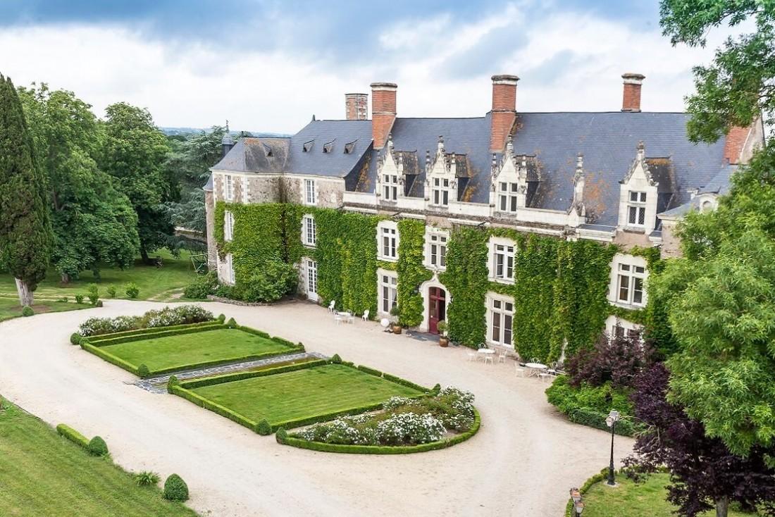 Le Château de l'Épinay à quelques kilomètres d'Angers, pour un séjour bucolique et détente © Château de l'Épinay