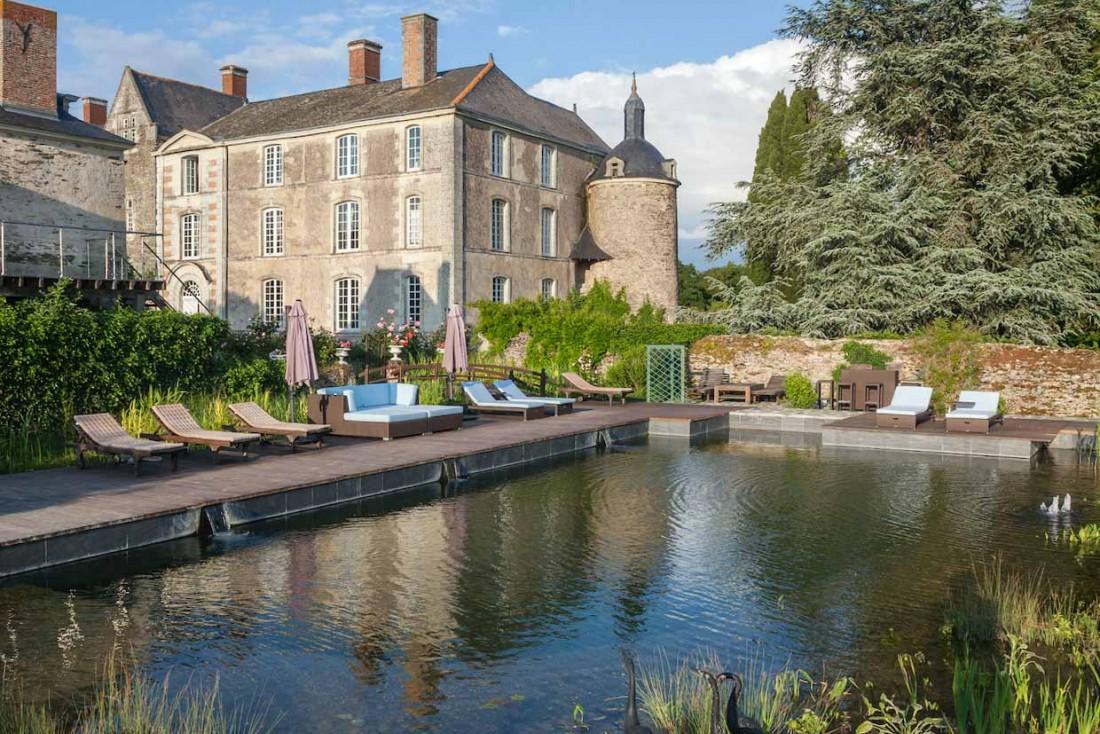 Certaines parties du Château de l'Épinay dans le Val de Loire remontent au XVe siècle © DR