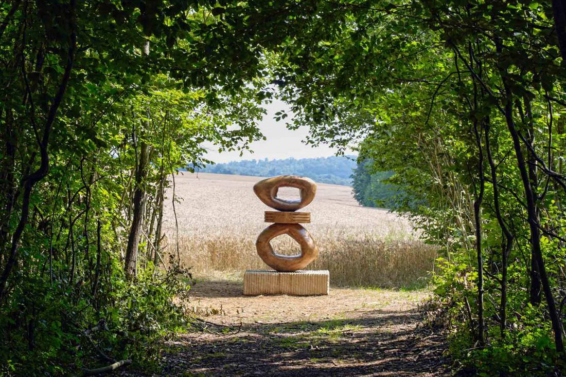 L'œuvre Saphira de Claudia Comte à Vent des Forêts © Sébastien Agnetti