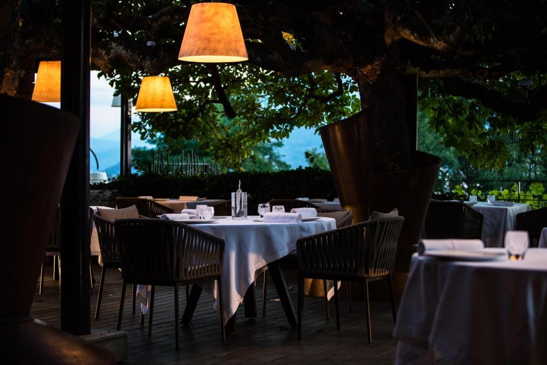 La terrasse du restaurant © M. Cellard