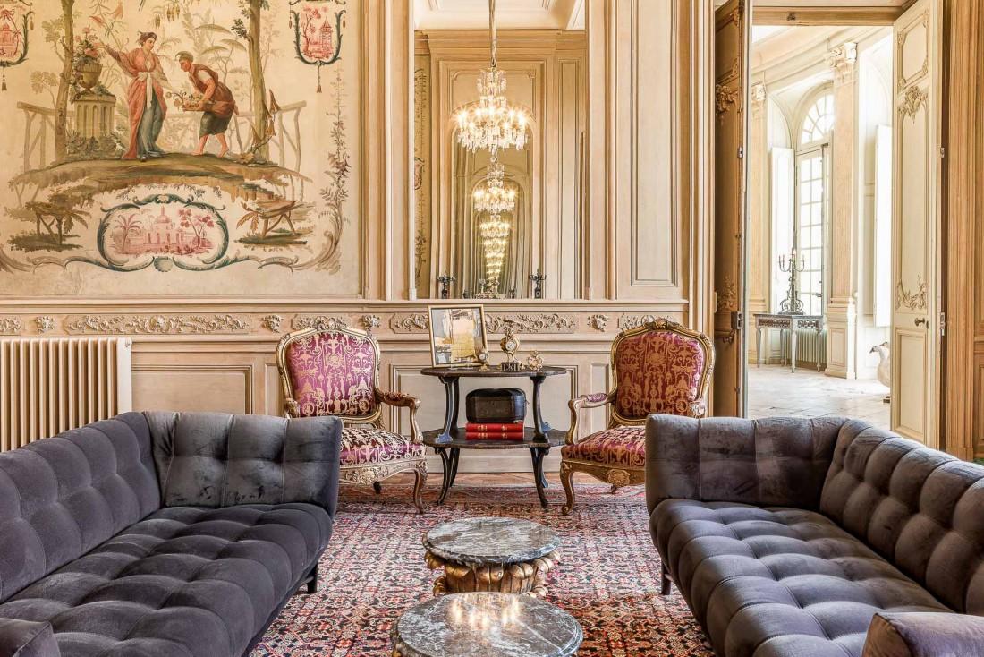 Le Salon chinois de la Suite du Baron © Adam Lynk