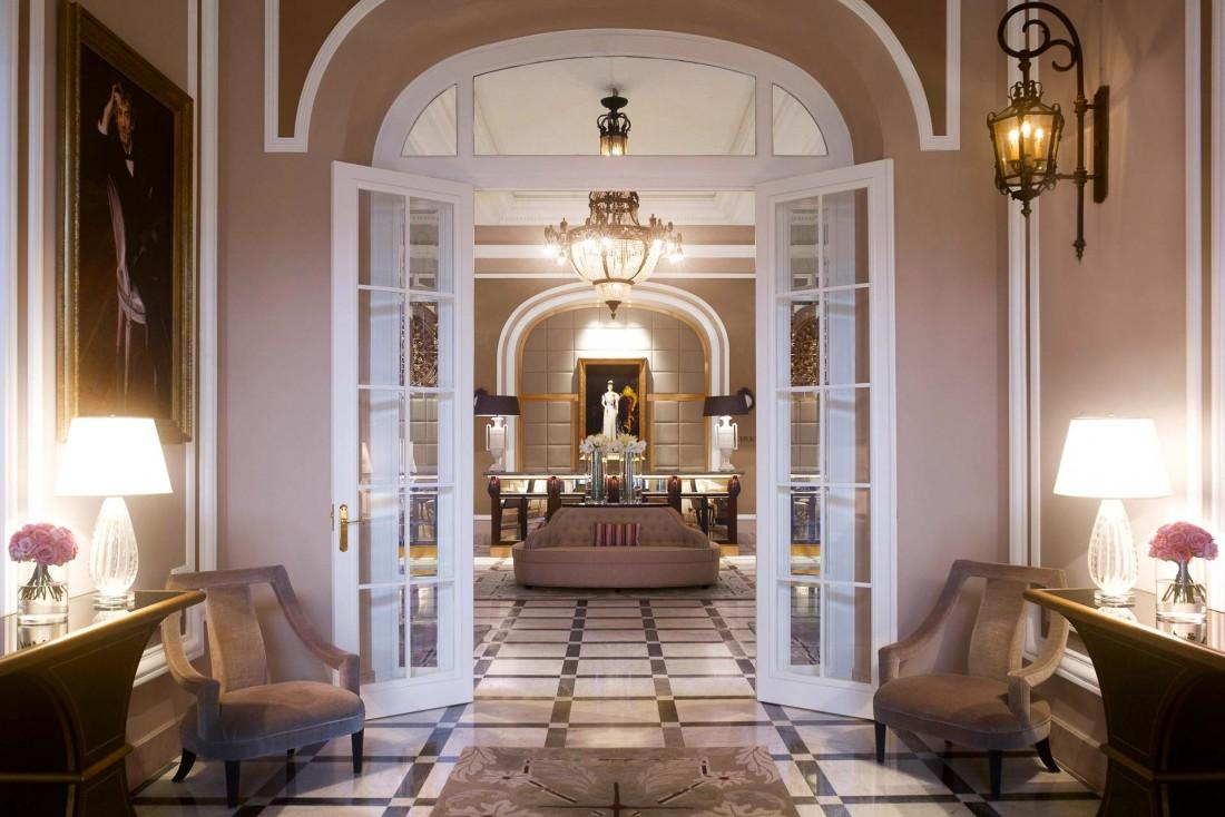 Décor palatial à l'intérieur de l'Hotel Maria Cristina © DR