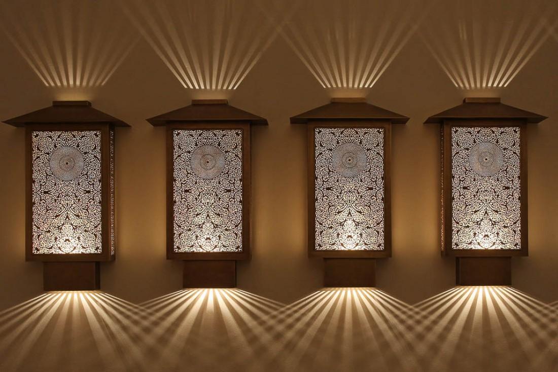 Les spectaculaires luminaires de Yahya, artiste installé à Marrakech célèbre dans le monde entier | © Yahya Group