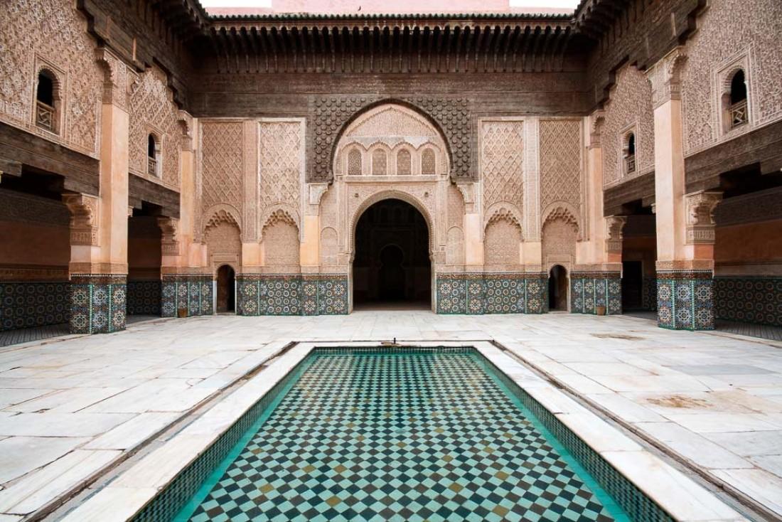 La médersa Ali Ben Youssef, l'une des merveilles architecturales de Marrakech | © Flickr CC – eatswords - https://flic.kr/p/9Y9n9g
