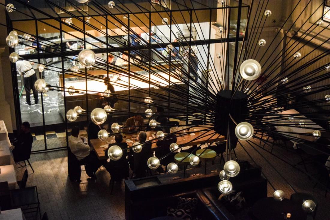 Fin de service au restaurant The Jane, vu de l'ultra branché Upper Room Bar © Yonder.fr