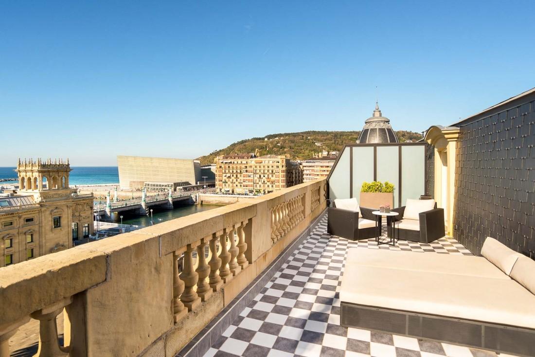 Suite Terrasse, au dernier étage de l'hôtel © Hotel Maria Cristina