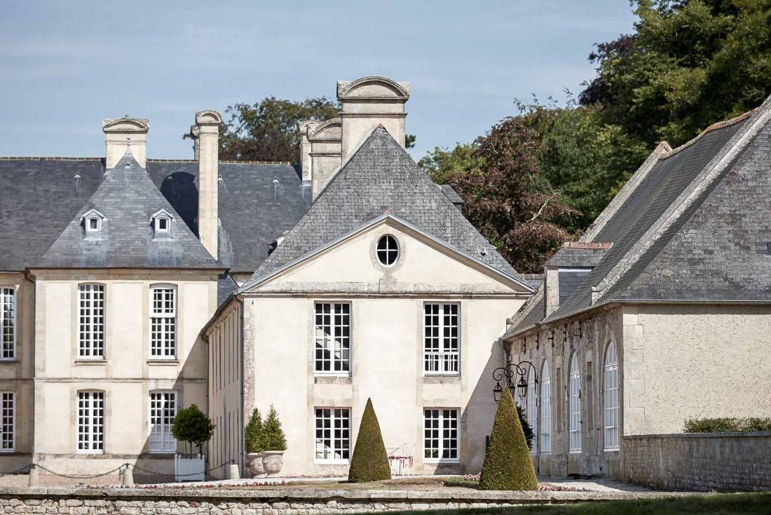 Le Château d'Audrieu est abrité dans une bâtisse du XVIIIème siècle, classée Monument historique © DR