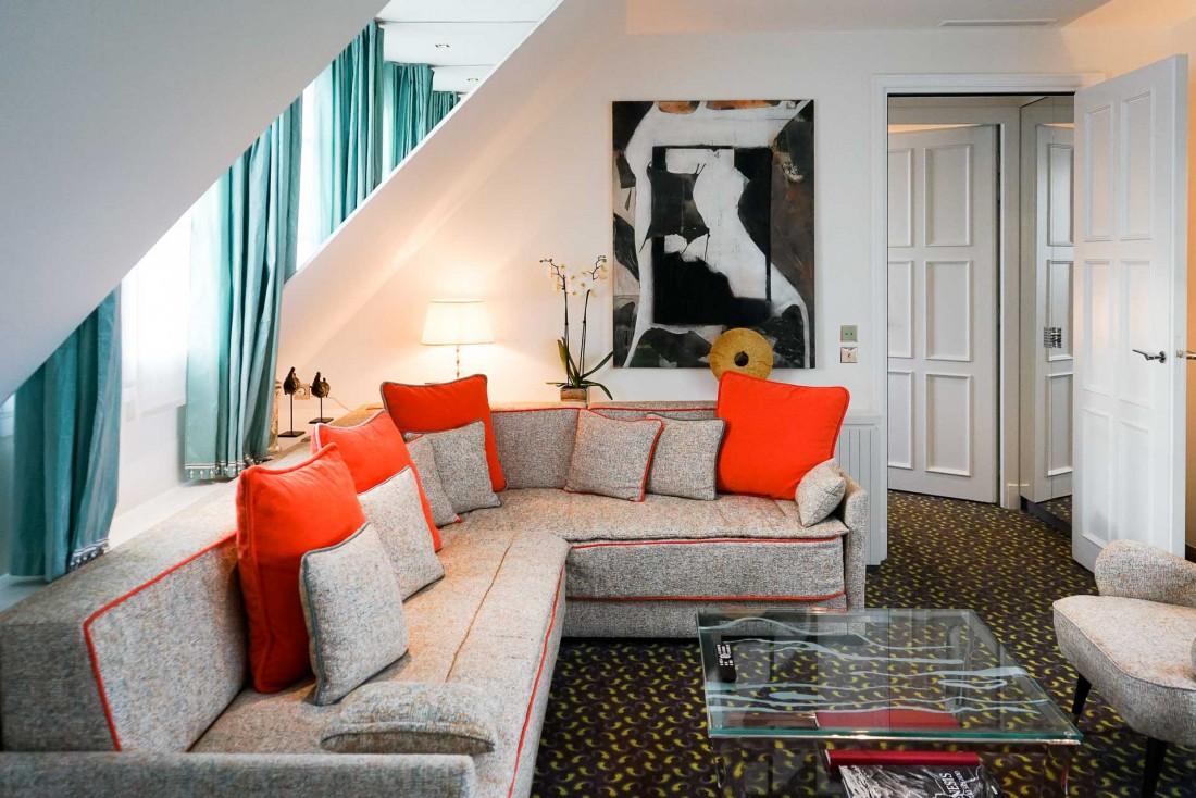 L'Appartement est la la plus grande suite de l'hôtel © YONDER.fr