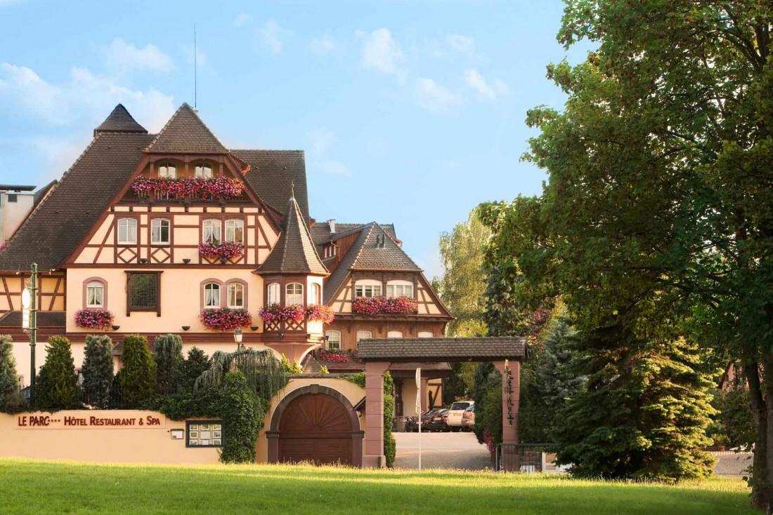 Le Parc Hôtel Obernai et son architecture alsacienne typique © DR