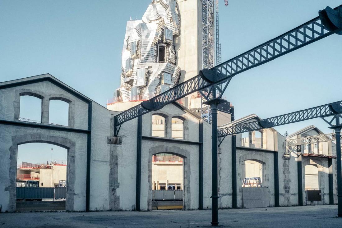 L'architecture de Luma Arles a été conçue par Frank Gehry. Le projet devrait être achevé en 2020 © DR