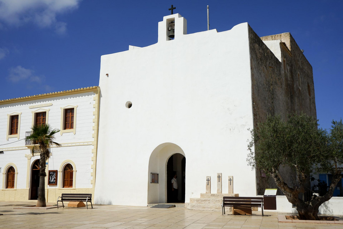 L'église de Sant Francesc Xavier, autre emblème de Formentera © MB   YONDER.fr