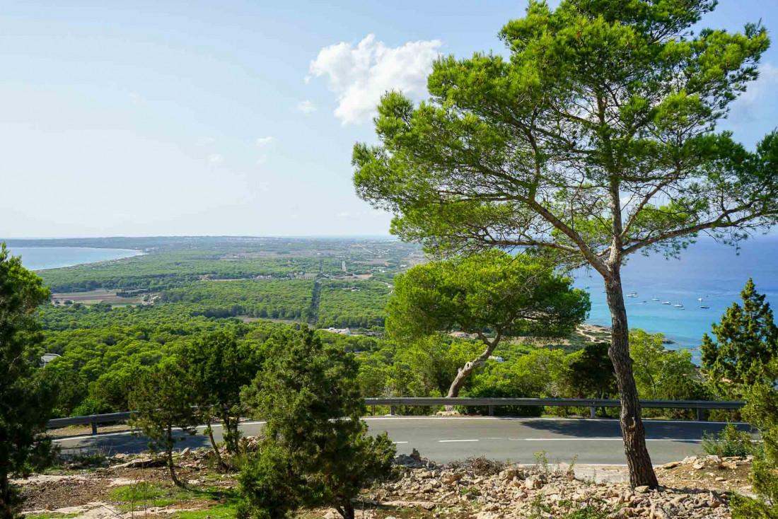 Vue sur Formentera depuis le café-restaurant El Mirador © MB   YONDER.fr