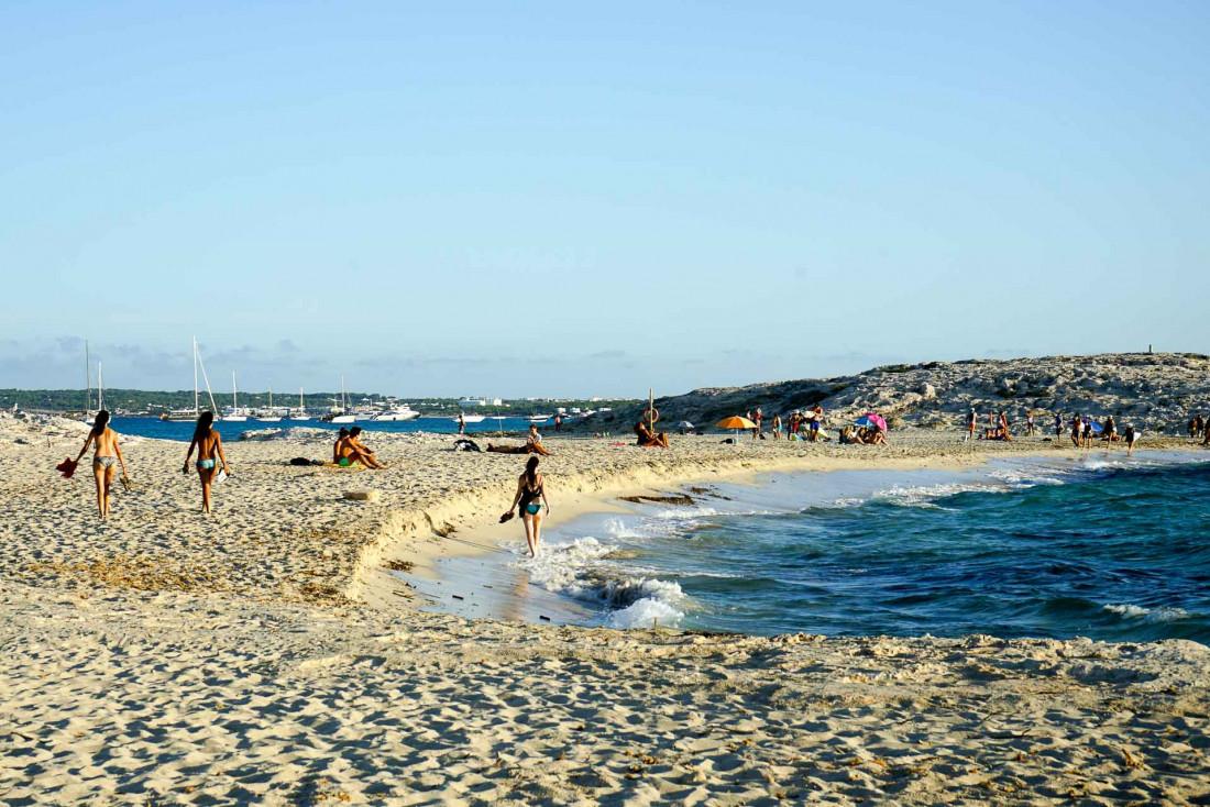 La plage de Ses Illetes, l'une des plus belles de toute la Méditerranée © MB   YONDER.fr