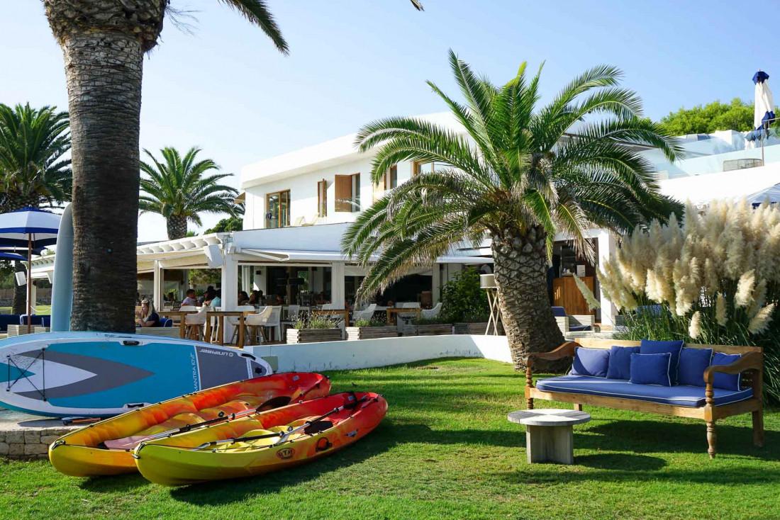 Le Gecko Hotel & Beach Club est l'hôtel le plus exclusif de Formentera © MB   YONDER.fr