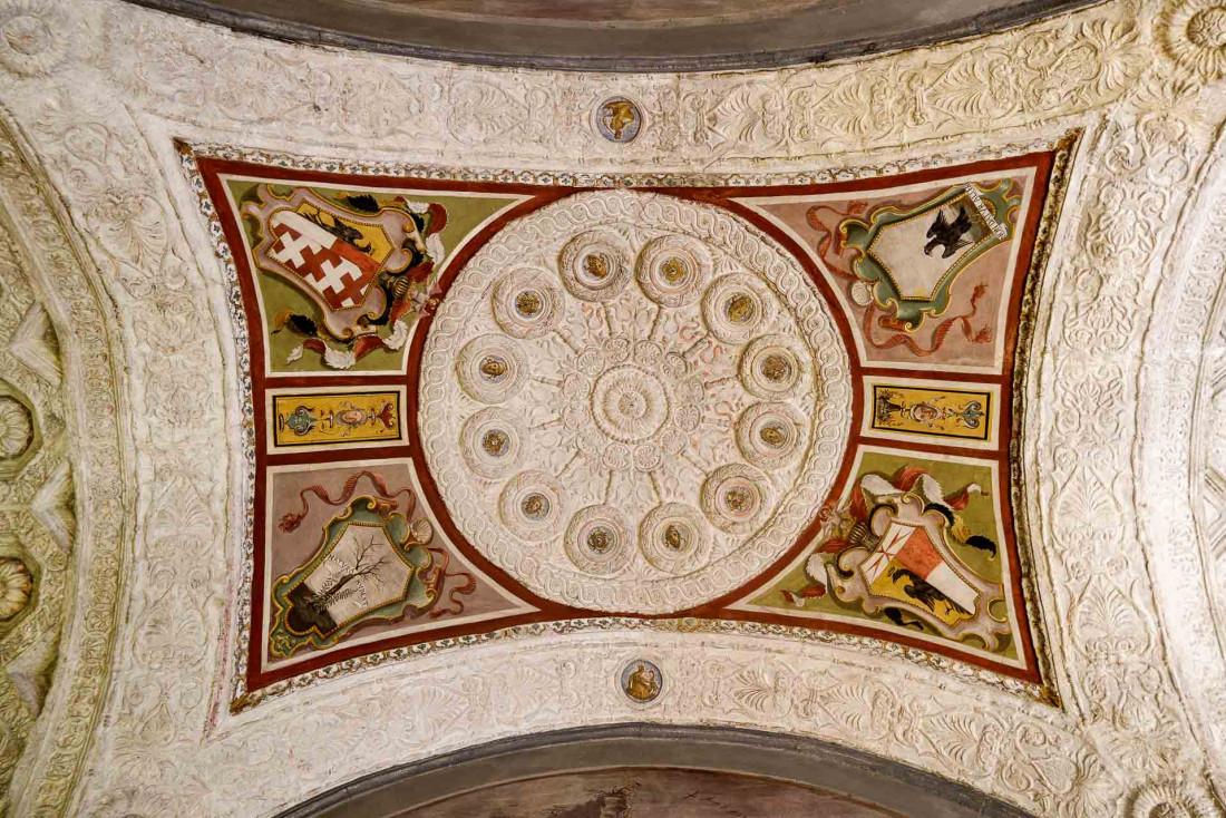 Four Seasons Hotel Firenze | Les fresques rappellent la riche histoire des lieux © DB|YONDER.fr