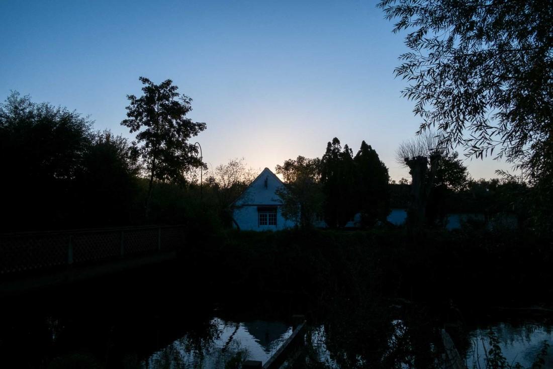 La Grenouillère, à la tombée de la nuit © Emmanuel Laveran