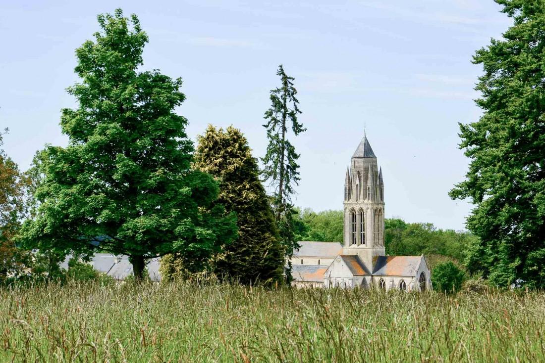 Vue sur la campagne normande et ses clochers © Emmanuel Laveran