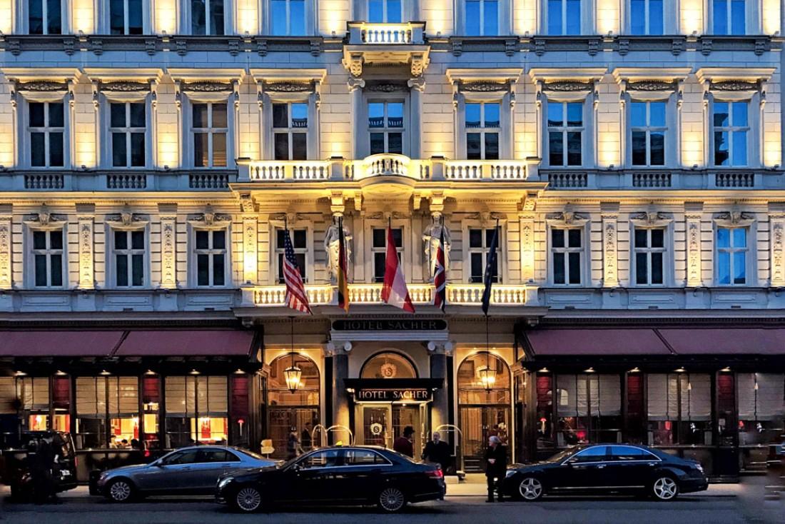 141 ans après son inauguration, le Sacher est toujours considéré comme l'un des plus beaux hôtels du monde © YONDER.fr