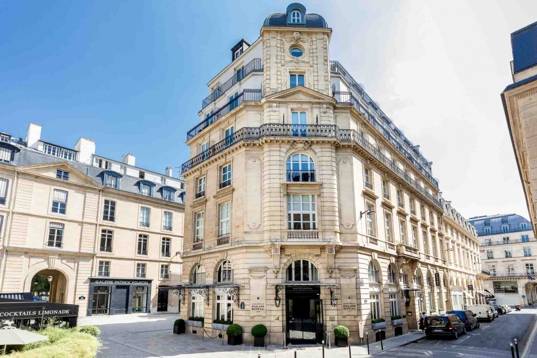 Le Grand Hôtel du Palais Royal, l'un des plus beaux hôtels du centre de Paris © DR