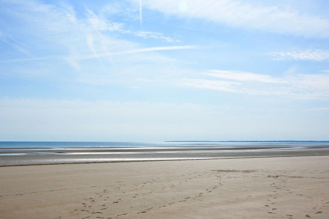 Le Château d'Audrieu est le lieu de séjour idéal pour découvrir les plages du Débarquement dans le Calvados et dans la Manche © Emmanuel Laveran