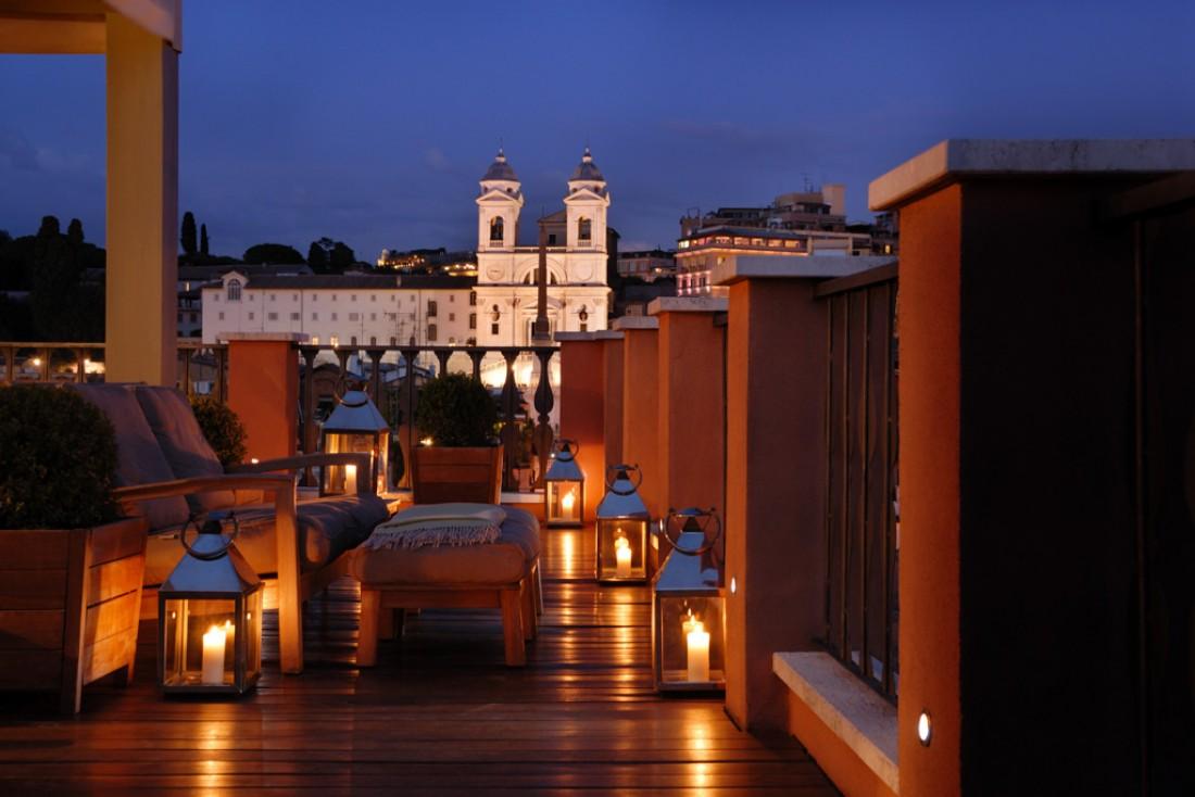 ... comme le soir © Portrait Roma