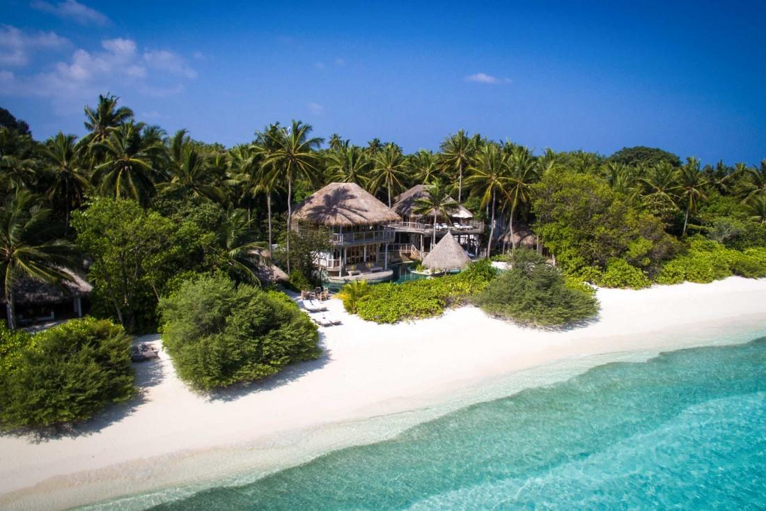 Toutes les villas, quelles que soient leurs tailles, ont un accès direct à la plage © Moritz Krebs