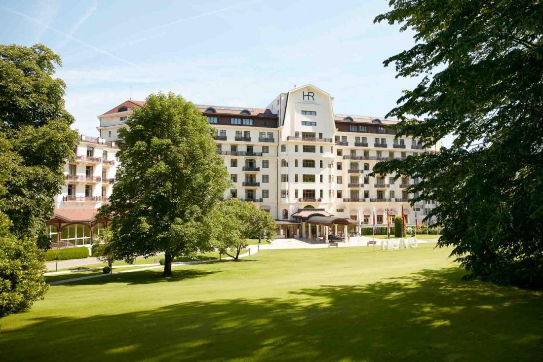 Hôtel Royal - Evian Resort, mythique palaced'Évian-les-Bains © Brodbeck et de Barbuat