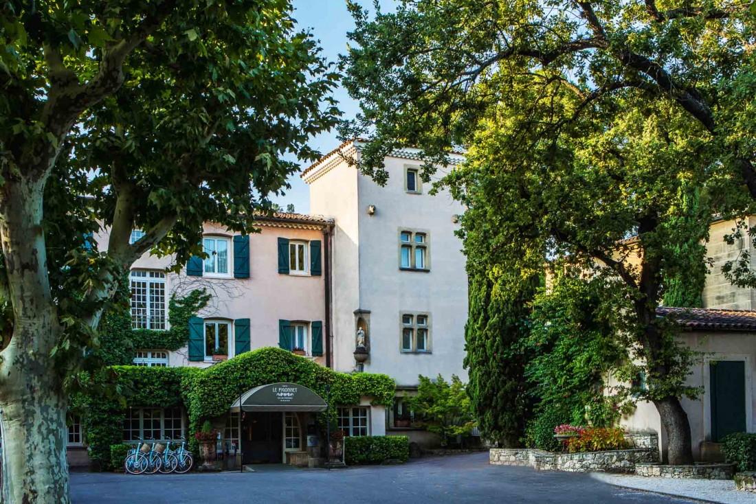 L'hôtel Le Pigonnet à deux pas du centre-ville, célèbre bastide aixoise du XVIIIe avec une roserai où Cézanne venait flâner © Hôtel Le Pigonnet