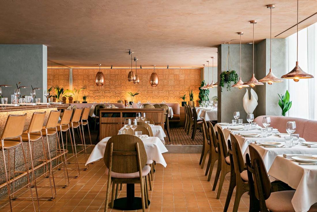 Ischia, la nouvelle table italienne de Cyril Lignac dans le 15e arrondissement © Yann Deret
