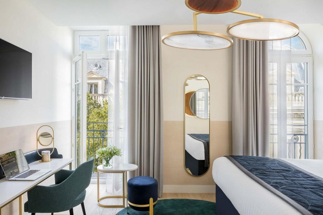 Chambre supérieure au Maison Albar Hotels L'Imperator à Nîmes © Stefan Kraus