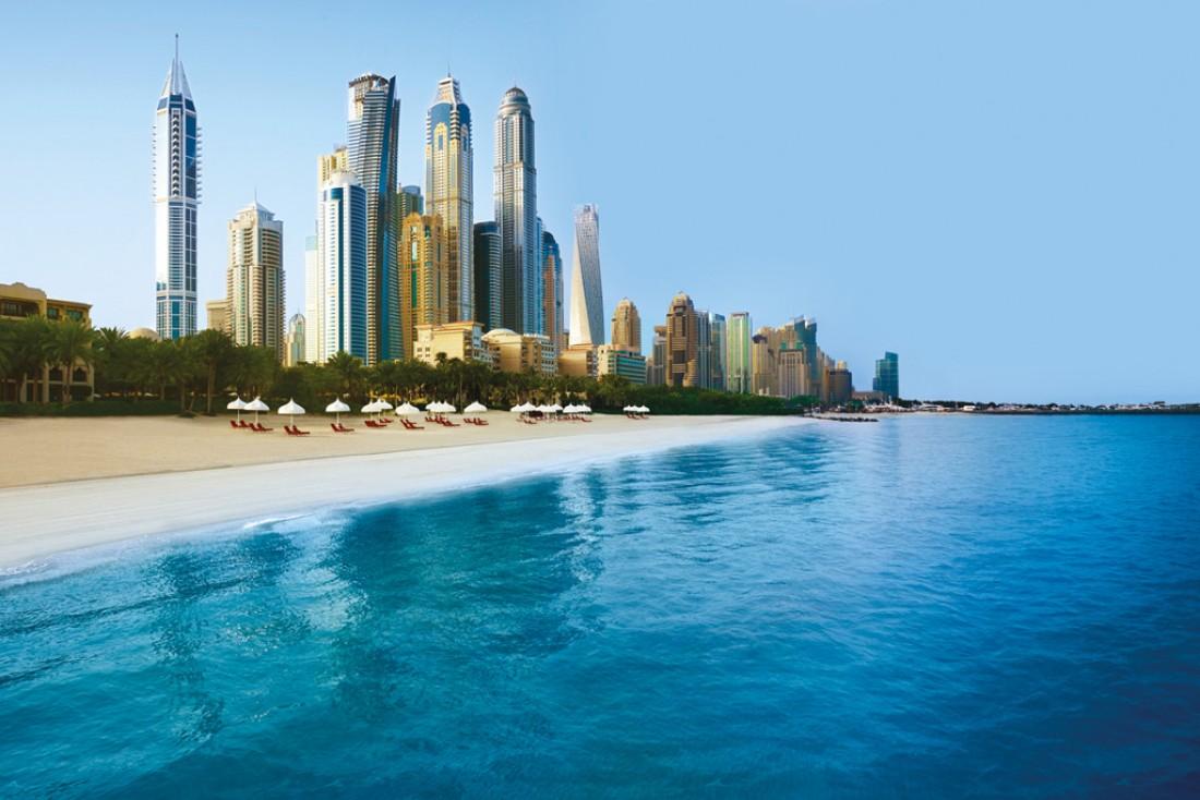 Fait notable, le One&Only Royal Mirage dispose d'une plage privée d'un kilomètre de long © One&Only