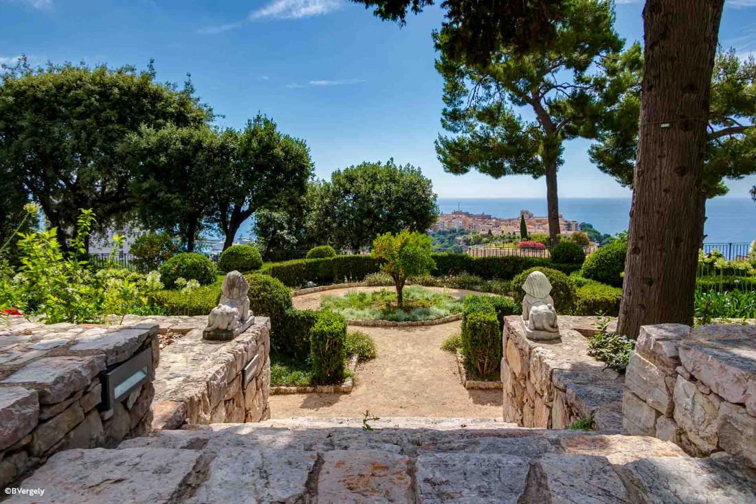Les jardins de la Villa Paloma © B. Vergely