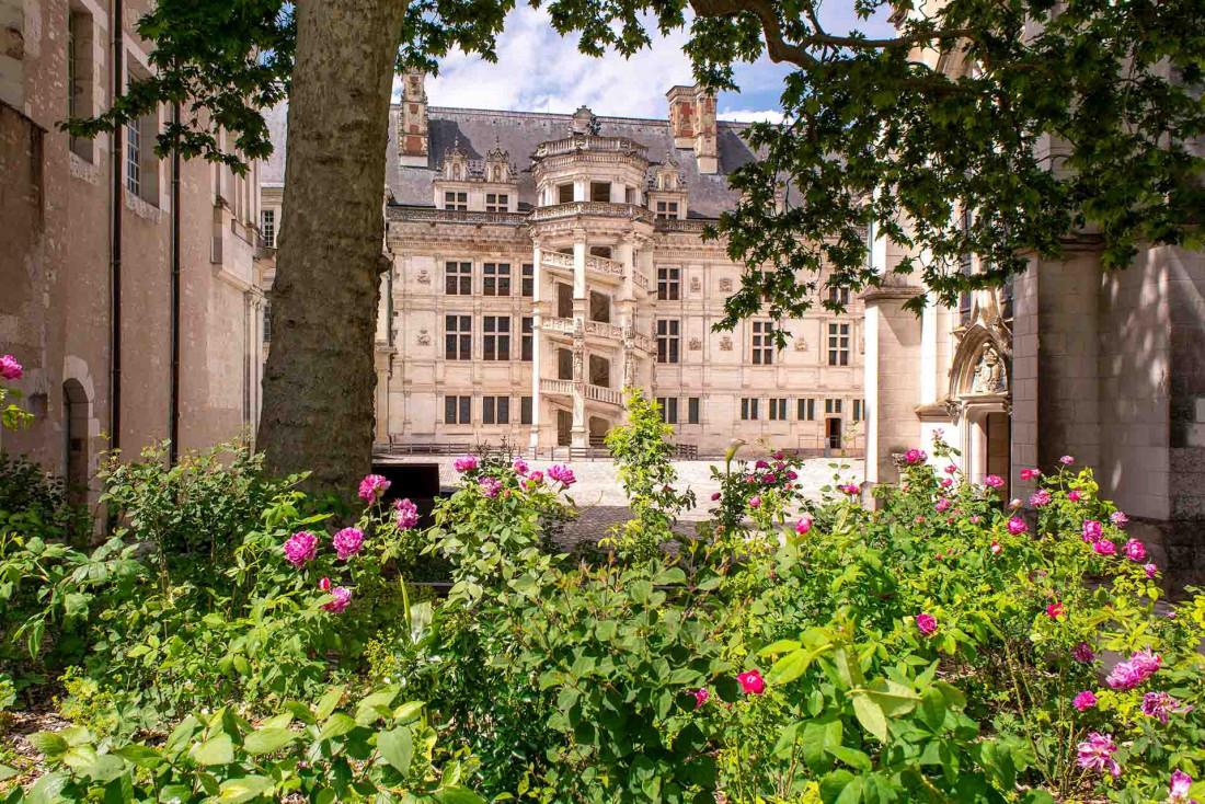 Le château royal de Blois abrite des jardins refaits à neuf © N. Wietrich