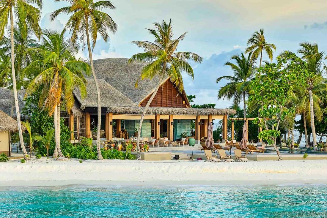 Ouvert fin 2018, le Joali Maldives est aujourd'hui l'un des plus beaux hôtels de l'archipel © Joali