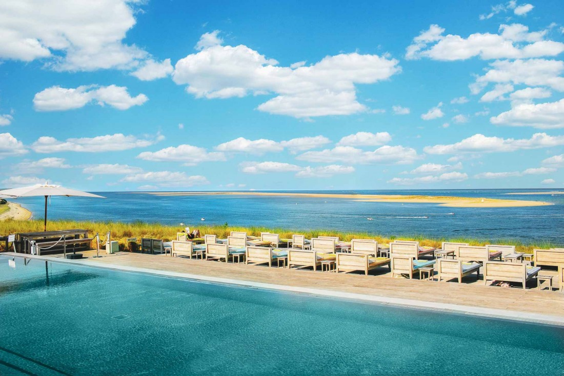 Avec une cinquième étoile obtenue en 2015, La Co(o)rniche est sans conteste la plus belle adresse hôtelière des Landes © DR